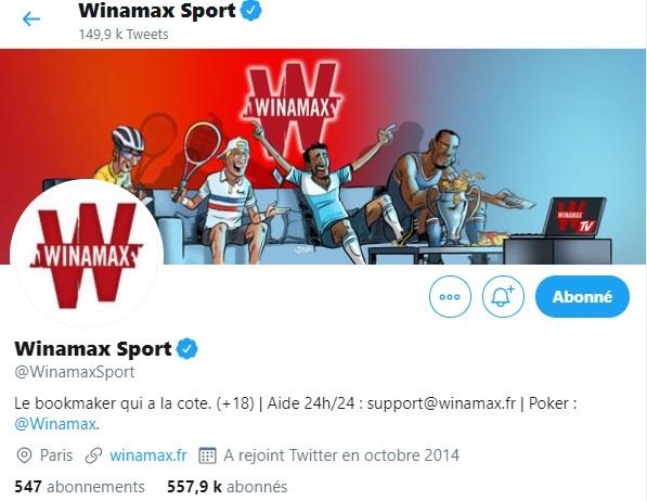 Twitter Winamax